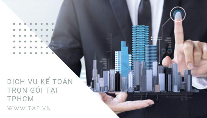TAF chuyên cung cấp dịch vụ kế toán trọn gói tphcm uy tín