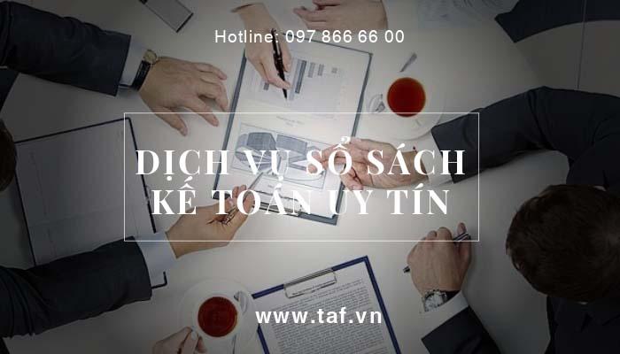 Dịch vụ sổ sách kế toán giải pháp dành cho doanh nghiệp