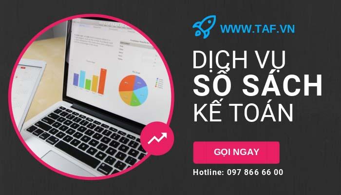 TAF cung cấp dịch vụ sổ sách kế toán toàn quốc